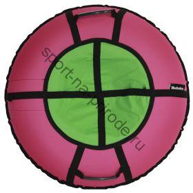 Тюбинг Hubster Ринг Хайп розовый-салатовый 90 см