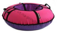 Тюбинг Hubster Ринг Хайп розовый-фиолетовый 120 см