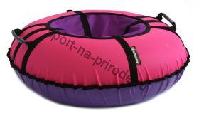 Тюбинг Hubster Ринг Хайп розовый-фиолетовый 110 см