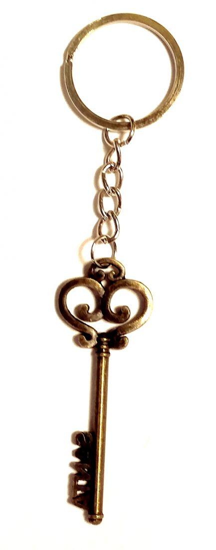 Брелок Ключ металлический