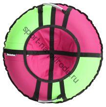 Тюбинг Hubster Хайп розовый-салатовый 100 см