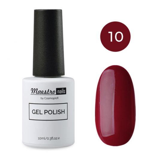 Гель-лак Maesto nails 10 мл  №10