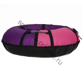 Тюбинг Hubster Хайп фиолетовый-розовый 80 см