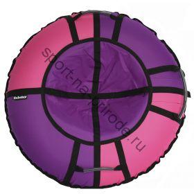 Тюбинг Hubster Хайп фиолетовый-розовый 110 см