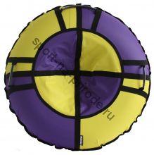 Тюбинг Hubster Хайп сиреневый-желтый 100 см
