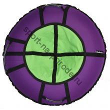 Тюбинг Hubster Ринг Хайп фиолетовый-салатовый 120 см