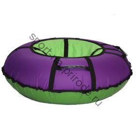 Тюбинг Hubster Ринг Хайп фиолетовый-салатовый 90 см