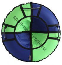 Тюбинг Hubster Хайп синий-салатовый 120 см