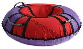 Тюбинг Hubster Хайп красный-фиолетовый 90 см