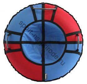 Тюбинг Hubster Хайп красный-синий 110 см