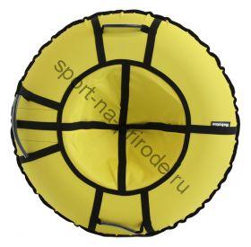 Тюбинг Hubster Хайп желтый 120 см