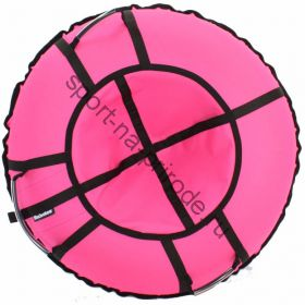 Тюбинг Hubster Хайп розовый 110 см