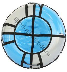 Тюбинг Hubster Sport pro синий-серый 100 см