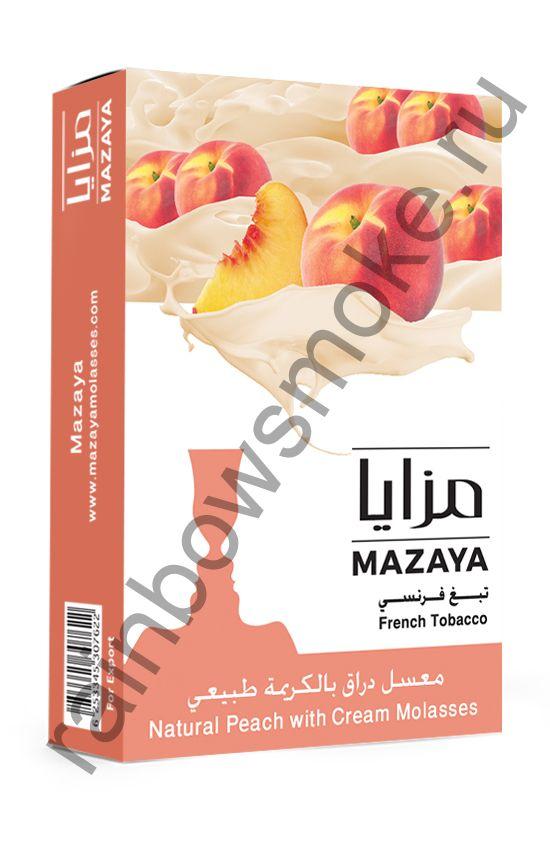 Mazaya 1 кг - Peach with Cream (Персик со Сливками)