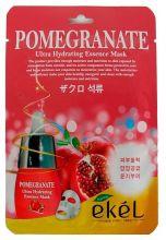 """""""Ekel"""" Pomegranate Ultra Hydrating Essence Mask Тканевая маска с экстрактом граната, 25мл"""