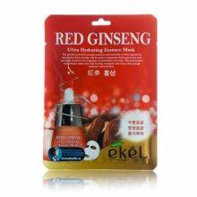 """Ekel"" Red Ginseng Ultra Hydrating Essence Mask Тканевая маска с экстрактом с красного женьшеня, 25"