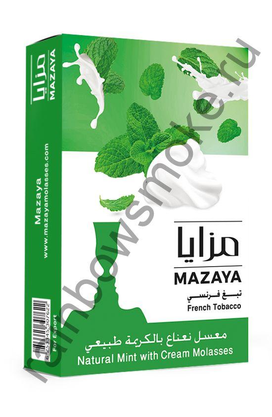 Mazaya 1 кг - Mint with Cream (Мята со Сливками)