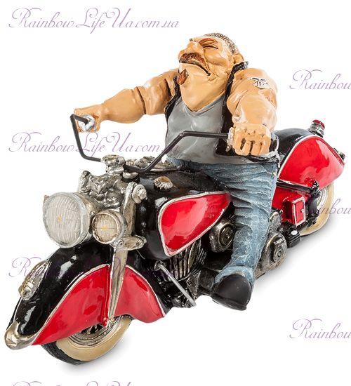 "Статуэтка байкер на мотоцикле ""W.Stratford"""