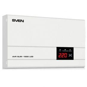 SVEN AVR SLIM-1000 LCD стабилизатор напряжения