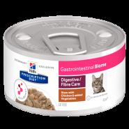 Hill's PD Gastrointestinal Biome Рагу с курицей и овощами для кошек с чувствительным пищеварением, 82 гр