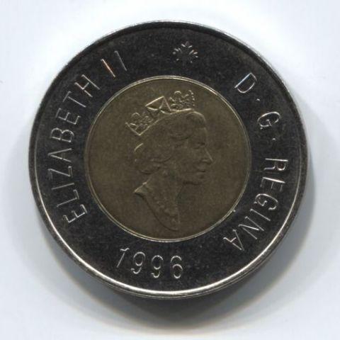 2 доллара 1996 года Канада