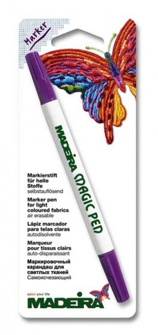 Маркер Madeira Magic Pen исчезающий (фиолетовый) арт. 9471