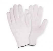 Перчатки трикотажные без ПВХ  54 гр. белые