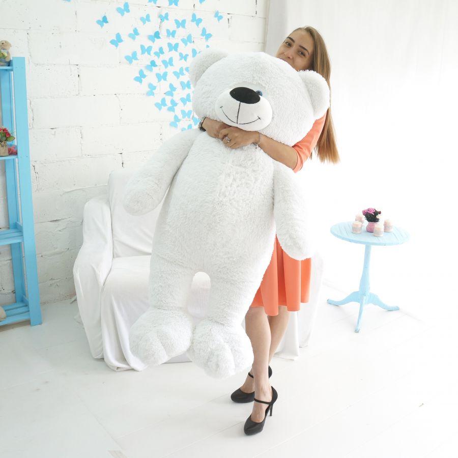 Мишка Веня (ОР-150см)(Д-125см) Белый