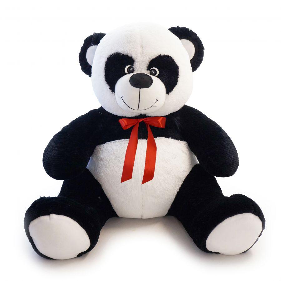 Мишка Панда Кузя (ОР-160см)(Д-120см) Черно-белый