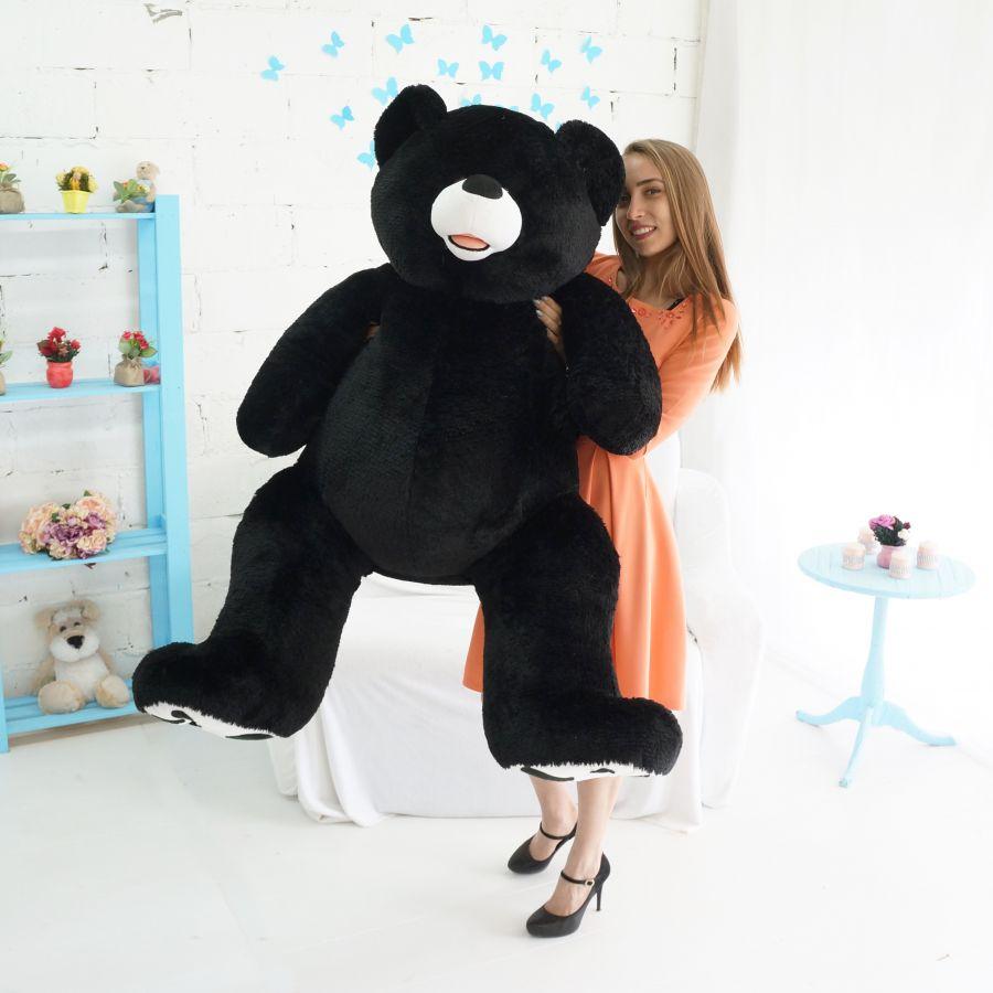 Мишка Патрик (ОР-170см)(Д-140см) Черный