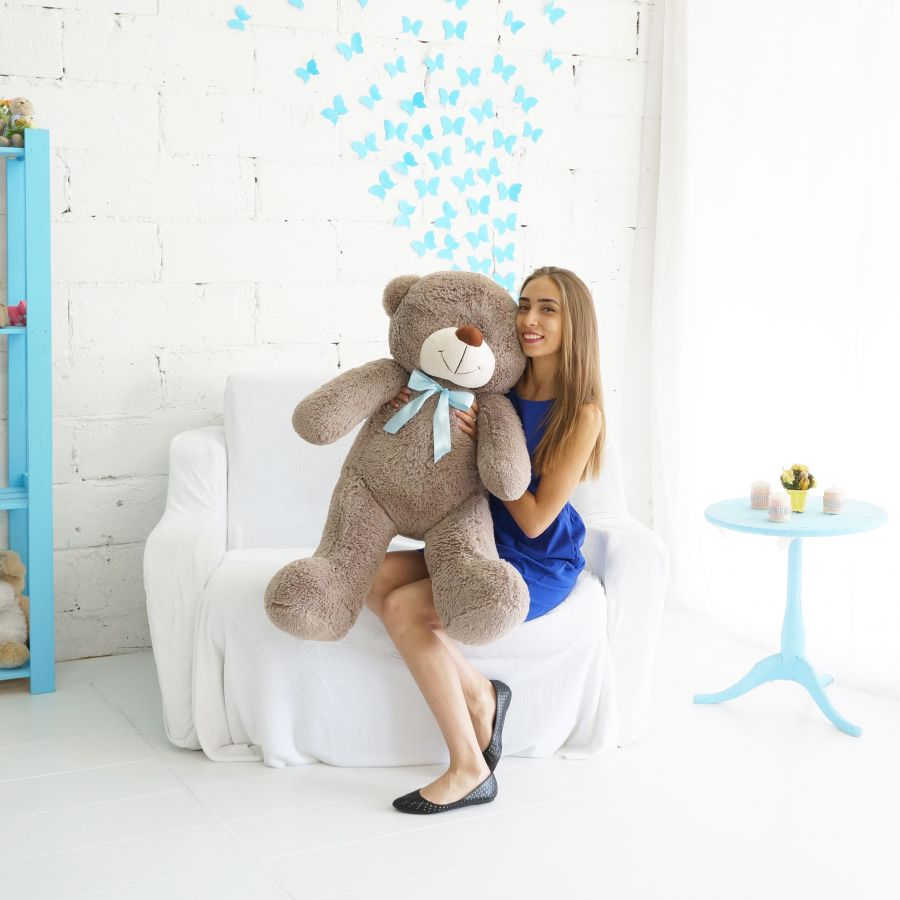 Мишка Федор (ОР-125см)(Д-105см) Светло-коричневый