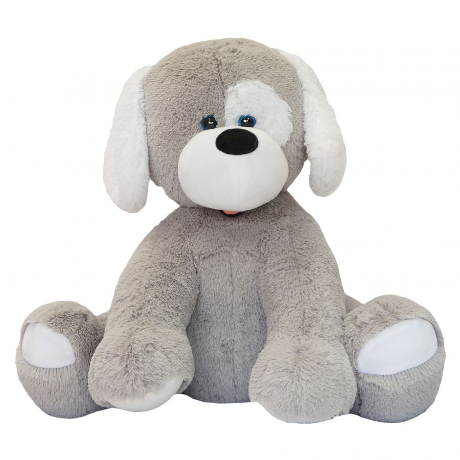Собака Джек (ОР-110см)(Д-85см) Серый
