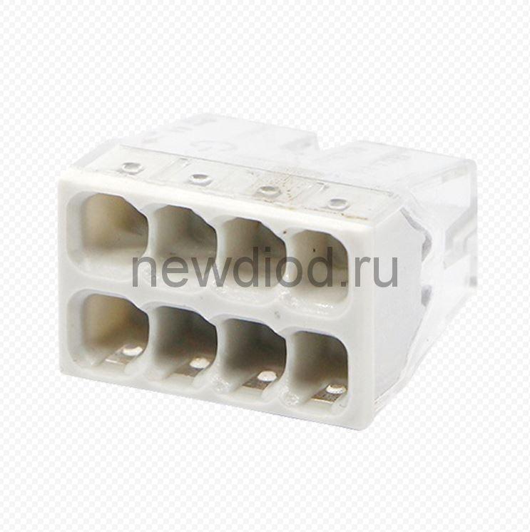 Строительно-монтажная клемма СМК 772-208 (4штук/упаковка) IN HOME