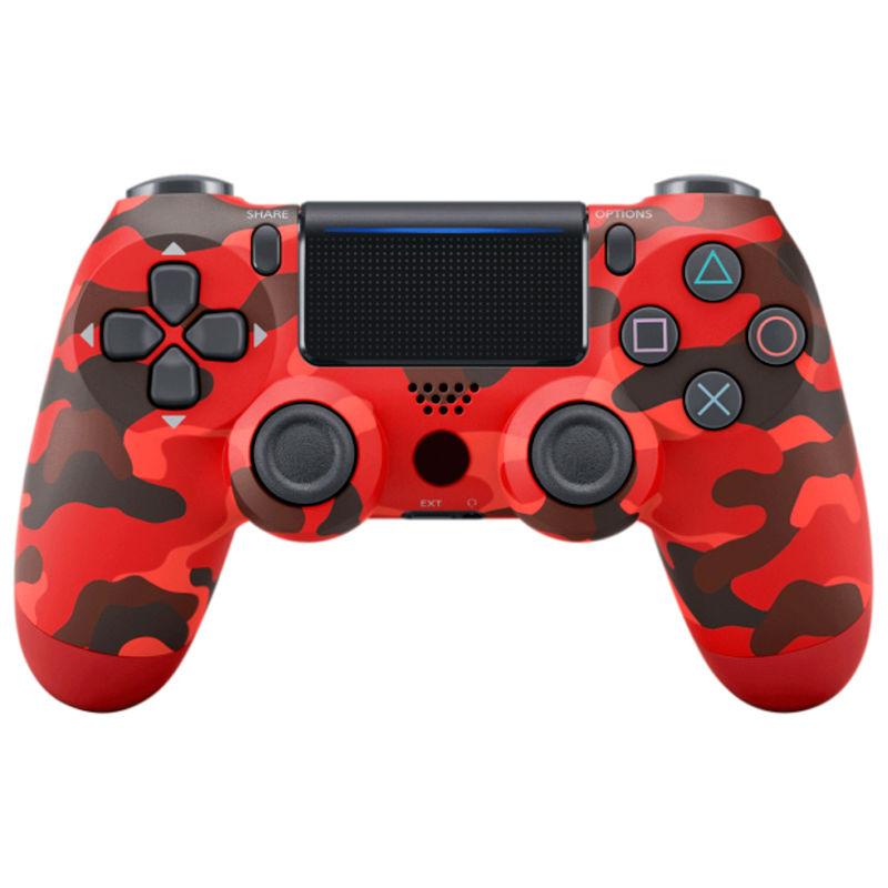 Джойстик для Playstation 4 Геймпад, Ps4, красный камуфляж