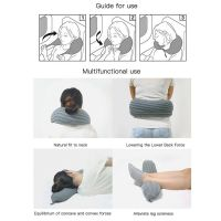 Подушка-Валик Для Путешествий U-Neck Pillow (4)