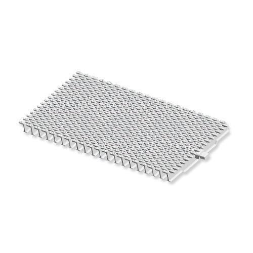 Переливная решетка AquaViva TG-01 Grift Claw с центральным соединением 195x25 мм (белая)