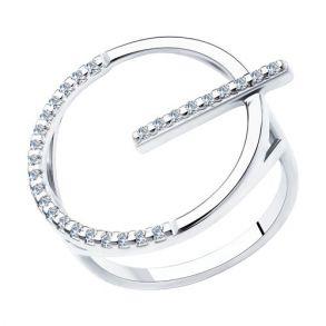 Кольцо из серебра 94013091 SOKOLOV