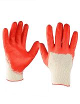 Перчатки ХБ  с 1 -латексным покрытием Люкс