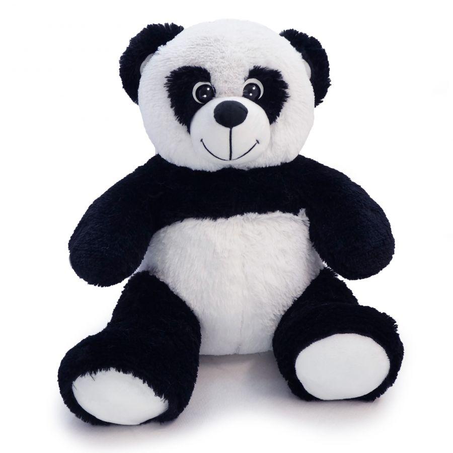 (Шкура) Панда Кузя (ОР-70см)(Д-60см) Черно-белый