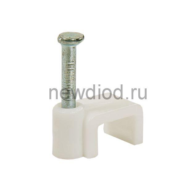 Скоба плоская СП-04 4мм (100штук/упаковка) IN HOME
