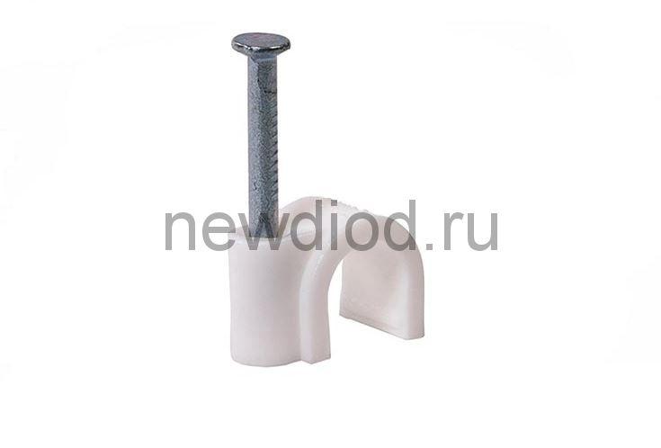 Скоба круглая СК-08 8мм (100штук/упаковка) IN HOME