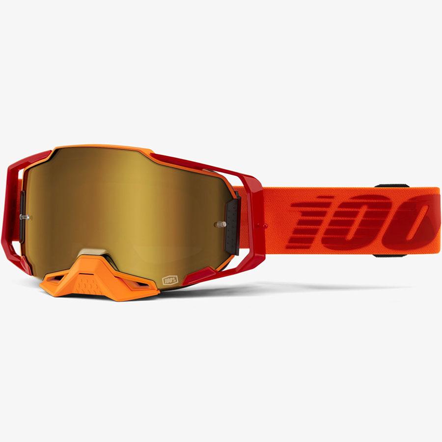 100% Armega Litkit True Gold Mirror очки, зеркальная линза