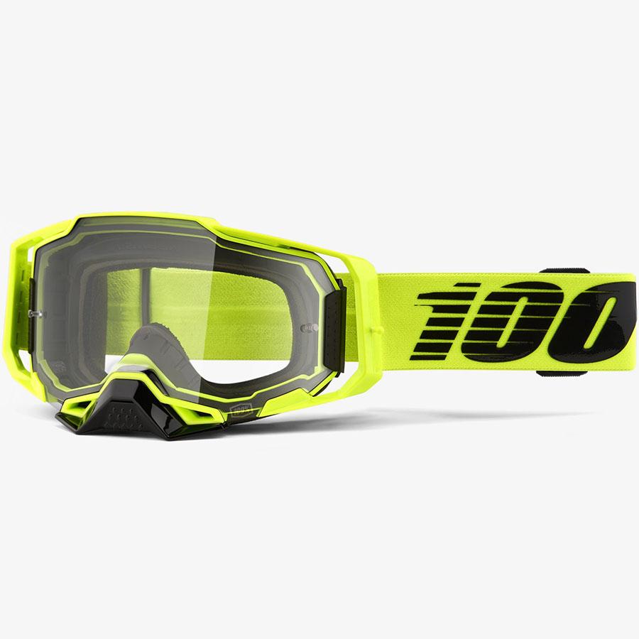 100% Armega Nuclear Citrus Clear очки, прозрачная линза