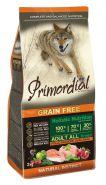 PRIMORDIAL Grain Free Сухой корм для собак всех пород, с курицей и лососем 400г