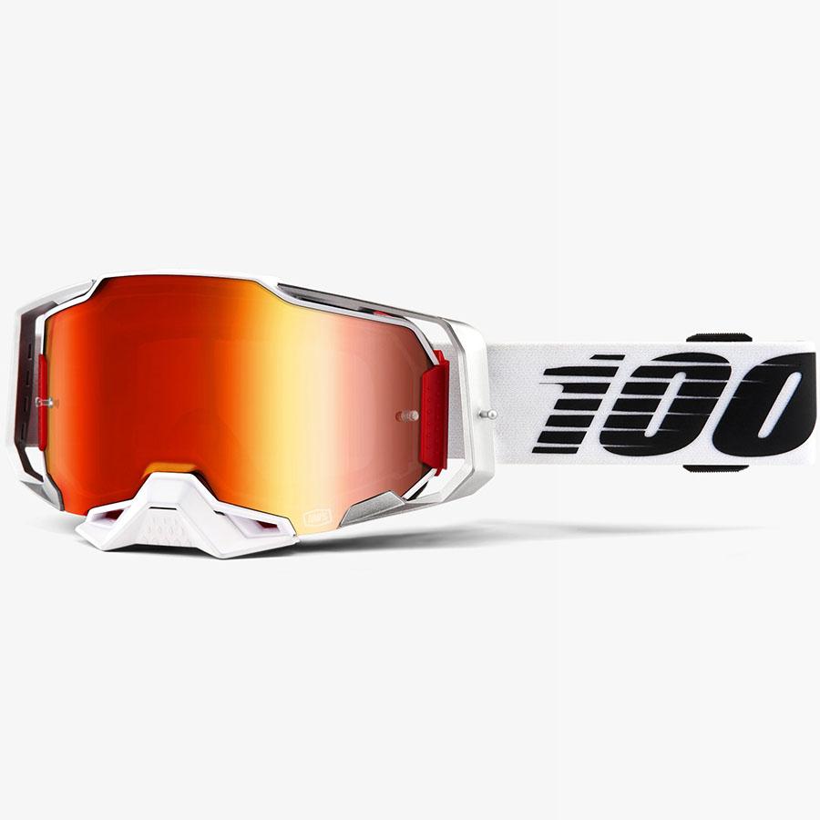 100% Armega Lightsaber Red Mirror Lens, очки