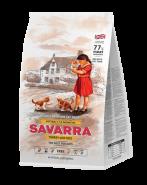 SAVARRA KITTEN Сухой корм для котят с индейкой и рисом, 400г