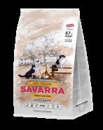 SAVARRA LIGHT/STERILIZED CAT Сухой корм для стерилизованных кошек, и кошек имеющих избыточный вес, 400г