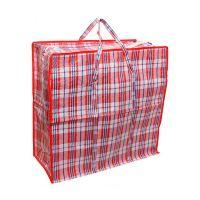 Хозяйственная сумка на молнии, Цвет Красный