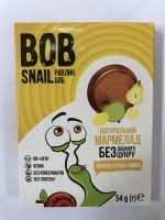 Мармелад яблоко-груша-лимон ,  без сахара Snail Bob 54 грамма