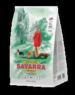 SAVARRA ADULT SMALL BREED DOG Сухой корм для собак мелких пород, с уткой и рисом, 1 кг
